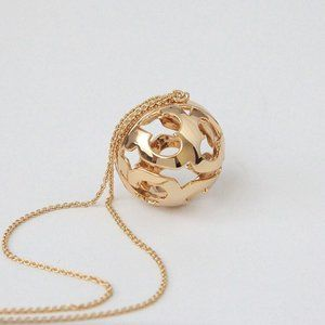 Tory Burch Miller Bubble Necklace